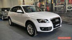 2010 Audi Q5 8R MY11 TDI S tronic quattro White Automatic 7sp A Wagon #audi #q5 #forsale #australia