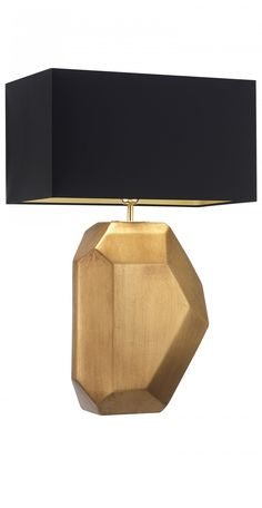 """gold"" table lamp: InStyle-Decor.com"