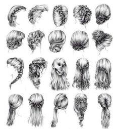 Variedad de peinados, foto de YUYA<3