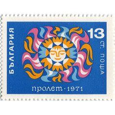 Vintage Stamp  www.typetoy.tumblr.com