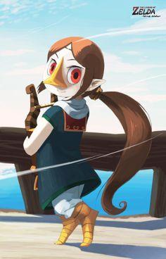 Legend of zelda medli rito the wind waker