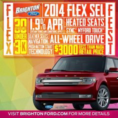 """Don't Miss the """"Flex Fest"""" Going on at Brighton Ford!"""