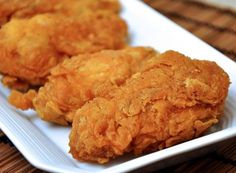 Discover recipes, home ideas, style inspiration and other ideas to try. Pollo Frito Kfc, Southern Recipes, Fried Chicken, Kids Meals, Tapas, Chicken Recipes, Food And Drink, Cooking Recipes, Yummy Food