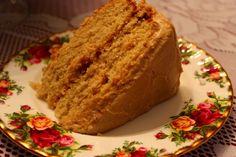 Sweet Tea and Cornbread: Peanut Butter Cake!