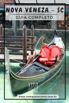 Guia completo de Nova Veneza, SC. Tudo sobre os pontos turisticos, restaurantes e hospedagens dessa cidade que é um pedaço da Itália no Brasil. #gondola #novaveneza  #brasil