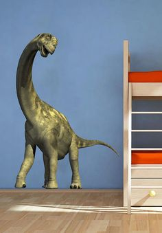 Camarasaurus Dinosaur Animals Kids Childrens Nursery by uBerDecals