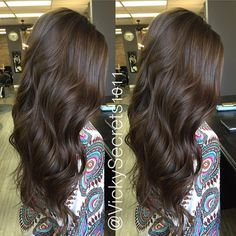 Hair. Beauty. Fashion. — Darkened @livvm20 hair more todayyy  added some...