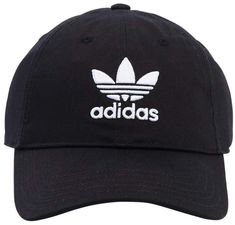 f44726f2418 adidas Logo Embroidered Twill Baseball Hat Girls Baseball Hats