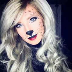 Glam Halloween Cheetah