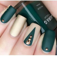 Nail art designs and ideas for different types of nails like, long nails, short nails, and medium nails. Check out more all Nail art designs here. Nails Polish, Matte Nails, Acrylic Nails, Gorgeous Nails, Beautiful Nail Art, Nails 2000, Beauty And More, Beauty Tips, Modern Nails