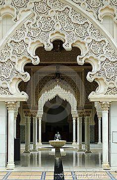 Moroccan Architecture Interior by Mypokcik, via Dreamstime