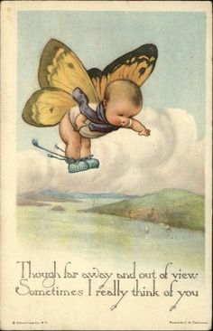 adorable 1910s postcard
