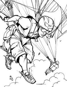 Image result for paragliding drawing art