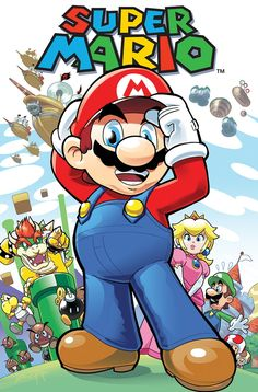 Check Out This Concept Art From The Rejected Super Mario Bros Comic – My Nintendo News Super Mario Bros, Super Mario Kunst, Super Mario World, Super Mario Brothers, Super Smash Bros, Nintendo Game, Super Nintendo, Nintendo News, Mario Comics