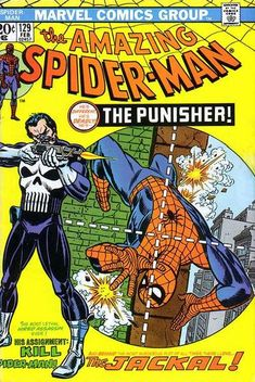 The Amazing Spider-Man #129 (1963 series) - cover by Gil Kane