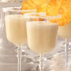 Frosty Pineapple Punch Recipe