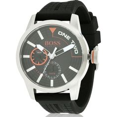 Hugo Boss Orange Silicone male Watch 1513305, Men's
