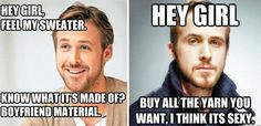 We all heard it! We're talking about the collective swoon from knitters everywhere when we read THAT article about a certain Mr. Gosling describing his perfect day (the answer is knitting and the feature can be found here, if you didn't already know)! Well, the story doesn't have to end there! We've teamed up* with …