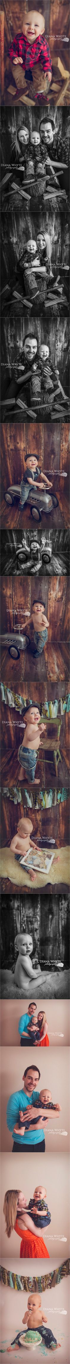 Calvin's First Birthday Session {Wasaga Beach / Barrie Child Photographer} Diana Whyte Baby Photography lumberjack theme