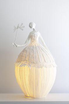 konfetti: (via Papier à êtres - Sculptures lumineuses - Bright sculptures)
