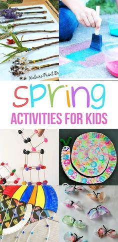Spring Activities for Kids-Enjoy the weather! Spring Activities for Kids-Enjoy the weather! Ready for some spring activities for kids? We have indoor or outdoor activities that kids will love this spring. Outdoor Activities For Kids, Spring Activities, Kindergarten Activities, Educational Activities, Preschool Crafts, Preschool Activities, Kids Crafts, Weather Activities, Science Crafts