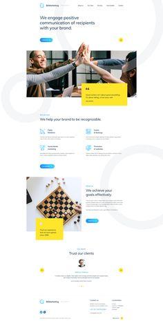 Dribbble - by Mateusz Madura Web Design Trends, Design Websites, Web Design Quotes, Web Ui Design, Web Design Company, Page Design, Email Design, Design Design, Graphic Design