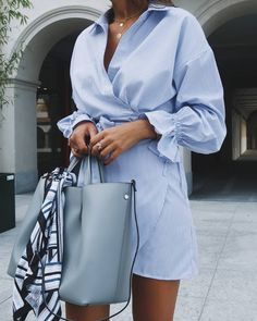What to wear this summer: a selection of images from . Cute Dresses, Casual Dresses, Fashion Dresses, Casual Chic Style, Casual Street Style, Chic Outfits, Summer Outfits, Classic Wardrobe, Pinterest Fashion