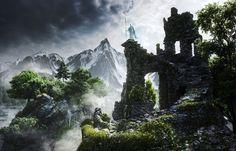 ArtStation - Vigilant - an atmosphere of Skyrim, Rob Garlington