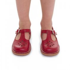 c12208cab84 red leather shoes for boys and girls Classic Leather