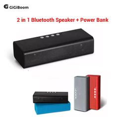 Outdoor sports 4000mAh Portable Wireless Stereo Bluetooth Speaker 10W  with Power bank TF Super Bass Sound Box Boombox Subwoofer
