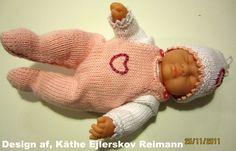 Mini baby 21 cm. Opskrift nr. 14