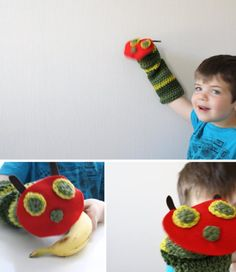 The Very Hungry Caterpillar Puppet Tutorial