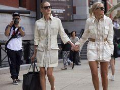 New York Fashion Week ss15 #nyfw #celineaagaard #tommyhilfiger #twinstyle #hippiehippiemilkshake