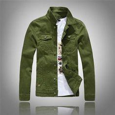 Jeans Men Jackets