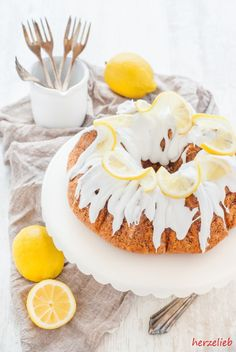 Ein Rezept für einen perfekten, saftigen Zitronenkuchen