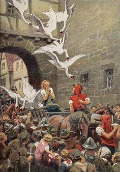 дикие лебеди сказка - Поиск в Google