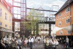 Boltens Food Court: Fra disko-midtpunkt til madmekka - Copenhagen Food Food Court, Mekka, Donkey, Marrakech, Happy Hour, Copenhagen, Denmark, Mexican, Street View