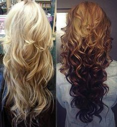 CURLS WITH LAYERS