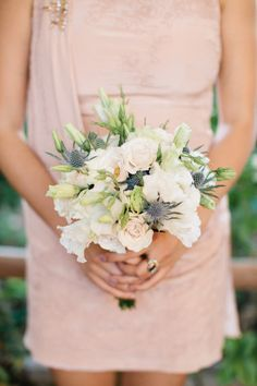 Flowers for bridemaids