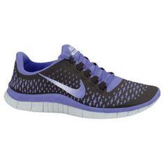 Nike Free Run 3.0 V4 - Women's - Dark Grey/Medium Violet/Pure Platinum