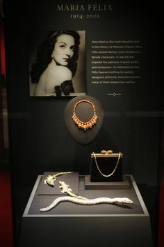 "Cartier items owned by actress Maria Felix are on display in the new Denver Art Museum exhibit entitled ""Brilliant: Cartier in the 20th Century."" The exhibit highlights Cartier's rise to be one of the world's most prestigious names in jewelry, precious objects and accessories."