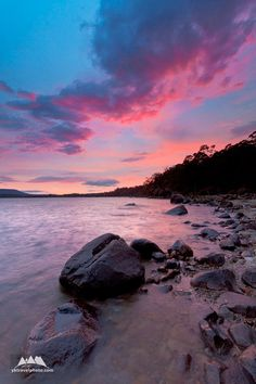 Lake St.Clair, Tasmania, Australia  Such a delightful sky!  Made by.... GOD!