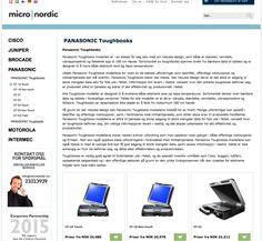 Kjøp Panasonic Toughbook på Micro Nordic. Micronordic.no