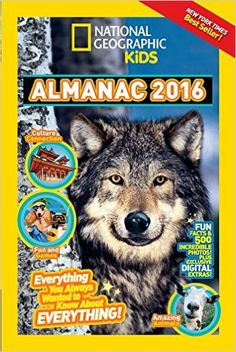 National Geographic Kids Almanac 2016 - Amazing Facts about Everything Nonfiction Text Features, Fiction And Nonfiction, Books For Boys, Childrens Books, National Geographic Videos, Animal Articles, Kid President, Pose, Kids Book Series