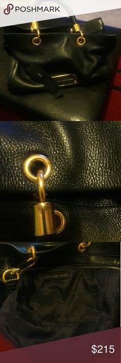 Marc jacobs too hot to handle I bought this bag a few months ago and stored it in my closet,  never worn but i noticed some marks on the gold tone from storing it, they are not very visible but they are there. Its in great condition, was a gift but am not a satchel purse fan Marc Jacobs Bags Satchels