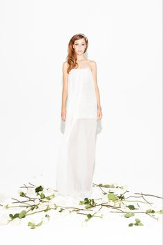 Love this Erin Fetherston Spring 2013 little white dress!