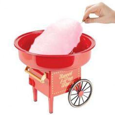 Máquina de algodón de azúcar que imita a las de la feria de toda la vida #algodóndeazucar #azucar #niños #delicioso #pequeñoelectrodoméstico