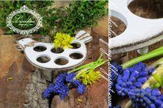"Lavenderia - decoupage i inne: Wielkanoc ""Podstawka na jajka"" Decoupage, Stepping Stones, Easter, Outdoor Decor, Home Decor, Stair Risers, Decoration Home, Room Decor, Easter Activities"
