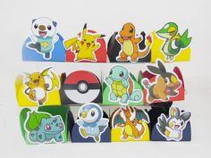 Forminhas para doces - Pokemon