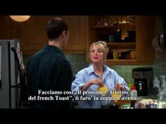 The Big Bang Theory - Penny's dance - French toast s03e03 [subita] - YouTube